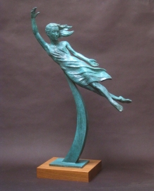 "Ascension, Bronze, 26"" high"