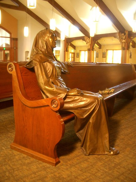 Mary, Bronze, Life-size