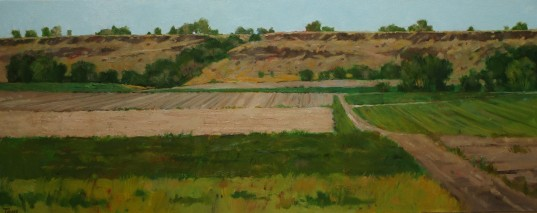 Melba Fields Oil 16 x 40