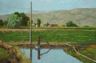 Near the Owyhees Oil 24 x 30