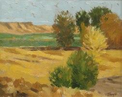 Autumn Colors, Oil on panel, 8 x 10