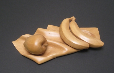 "Still Life, Basswood, 13"" long"